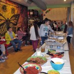 Film Festival goers were treated to a delicious buffet of  Mexican cuisine at no cost.