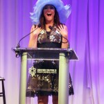 Women with Hattitude emcee, Denise Plante, KOSI radio.