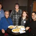 From left to right, Fran Coleman, Freddy Rodriquez Sr. Veroncia Barela, Mona Lisa & Freddy Rodriquez Jr.