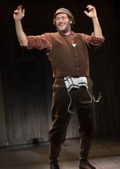 Yehezkel Lazarov as Tevye, a dairy man. Photo by Joan Marcus.