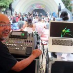 John Veit, Owners of Spot On Sound Productions once again provided superior sound quality for the main stage.