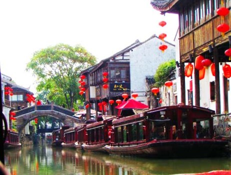 "The city of Suzhou, which dates to 514 BC, is sometimes called the ""Venice of the East"" (see photo gallery below)"