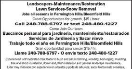 Landscapers-Maintenance/Restoration