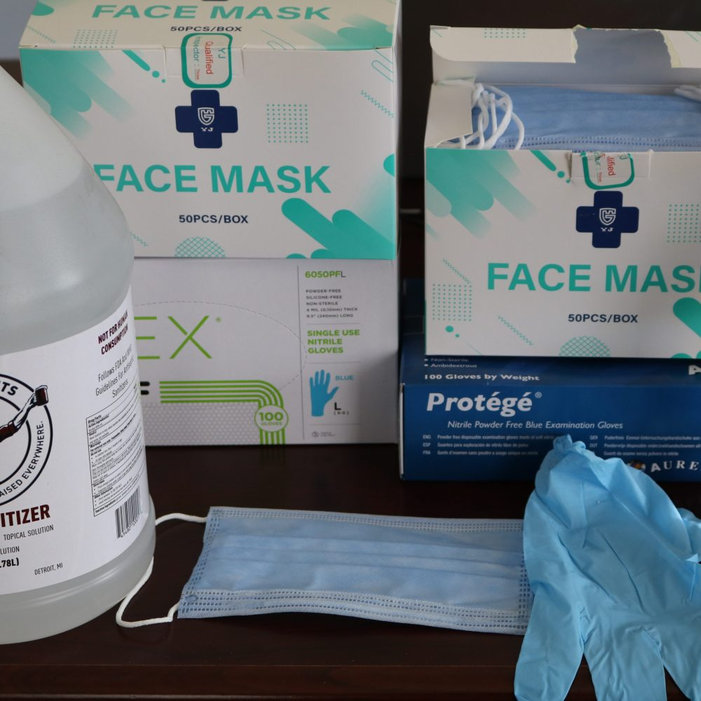 Face mask and PPE supplies