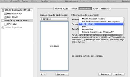 Resultado de imagen para sistema de archivos MAC OS