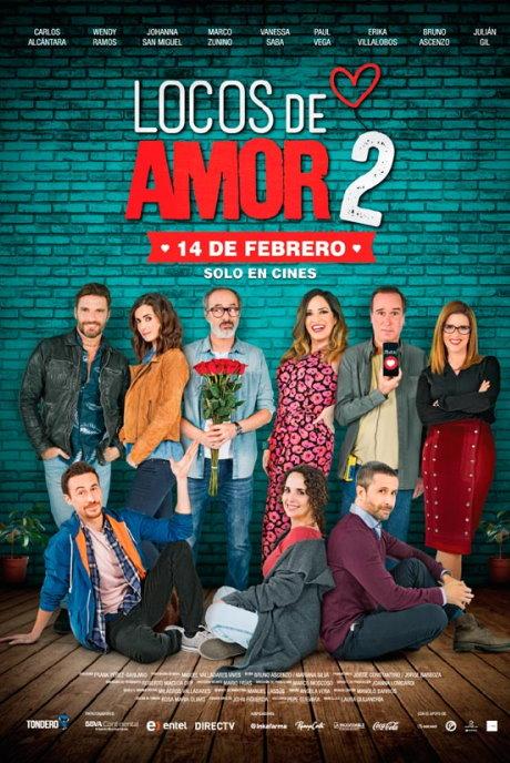 Locos de Amor 2 Película Completa DVD [MEGA] [LATINO] 2018
