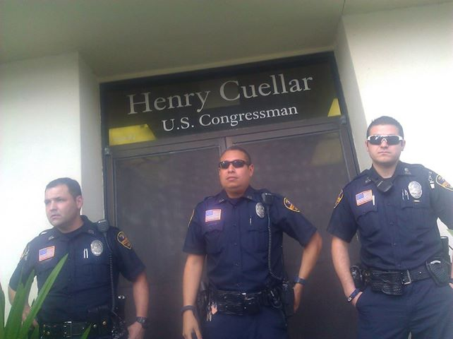 Local Laredo News Video: Dreamers Sit-in at Rep  Henry