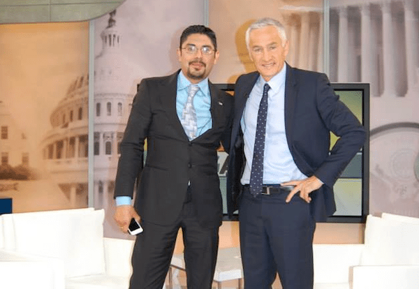 Sergio García with Jorge Ramos (via García Facebook site)