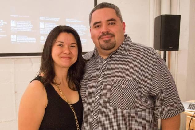 Liliana Monge and Gregorio Rojas