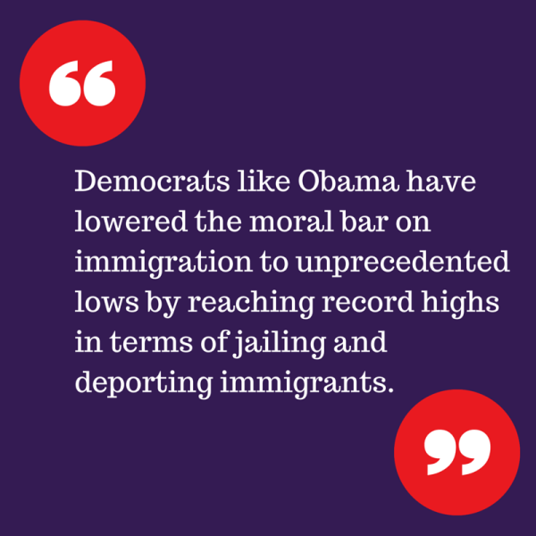 Democrats like Obama have lowered the