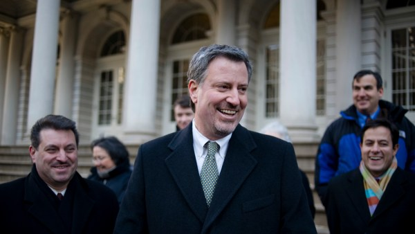 New York City Mayor Bill de Blasio (Flickr)