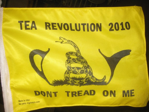 Tea Party flag (futureatlas.com/Flickr)