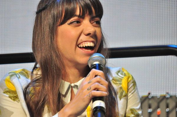 Alynda Lee Segarra of Hurray for the Riff Raff at the 2014 Pop Conference in Seattle (Joe Mabel/Public Domain)