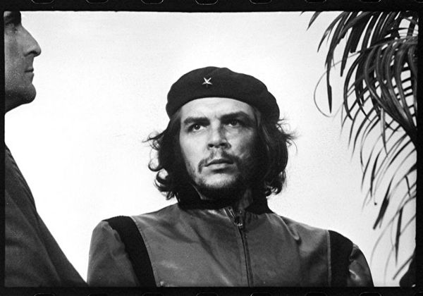 "Alberto Korda's famous photo titled ""Guerrillero Heroico,"" taken in March 1960 (Public Domain)"