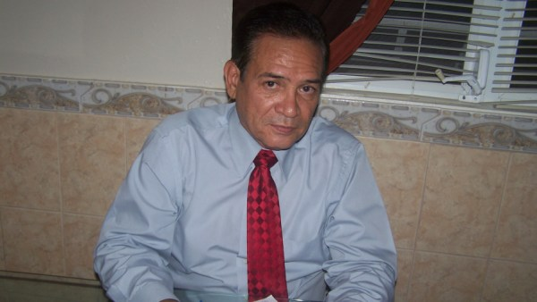 Edgardo Jusino-Campos, author of 'El harapiento de Betzaida' (Photo by Kelene-Mar Jusino)