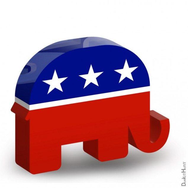Republican symbol elephant