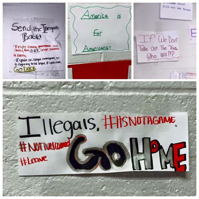 Illegals' History Project From North Carolina High School