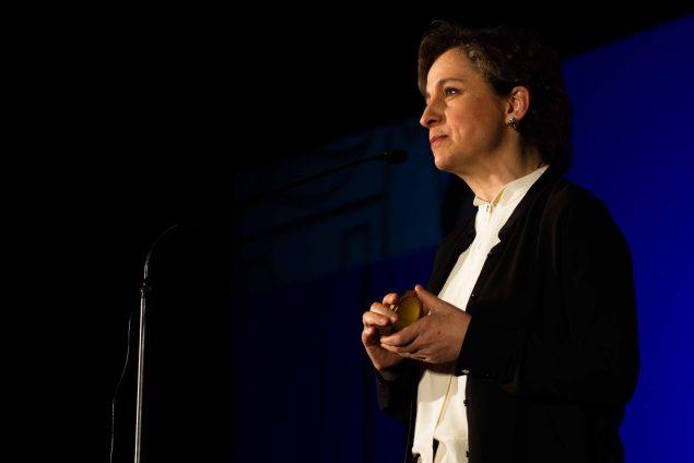 Award-winning Mexican journalist Carmen Aristegui (Jeffrey Mercado)