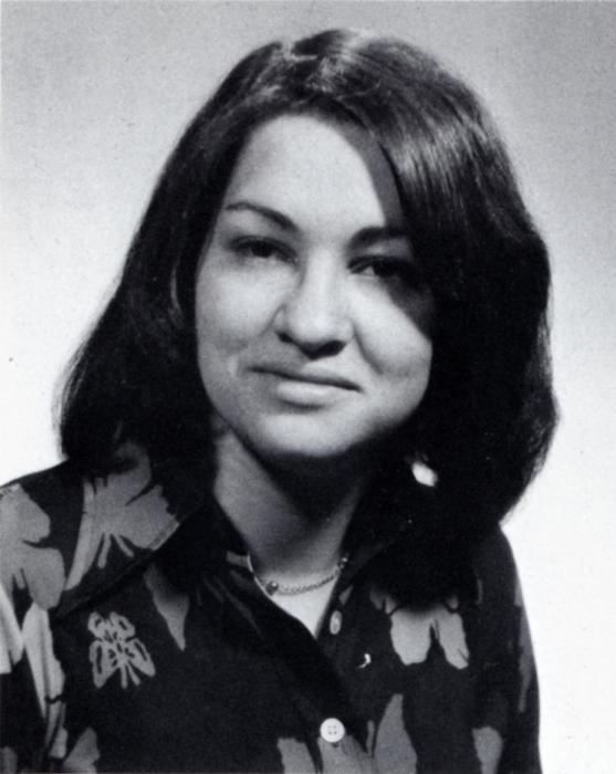 1976 Princeton photo of Sonia Sotomayor, U.S. Supreme Court justice