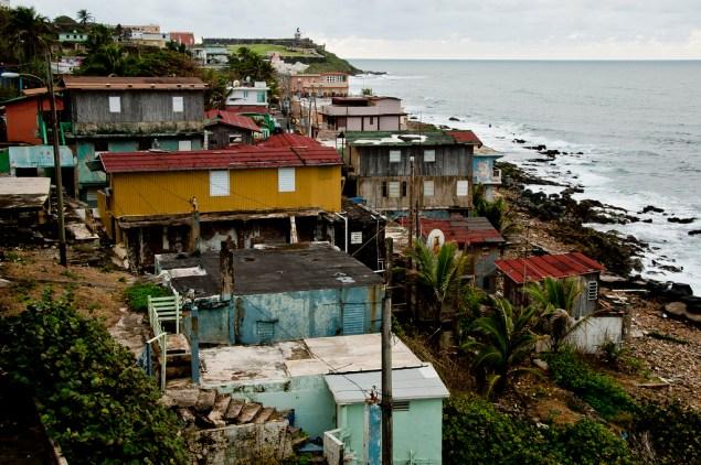 La Perla is an ocean-side neighborhood in Old San Juan outside the walls of Castillo de San Cristóbal. (vxla/Flickr)