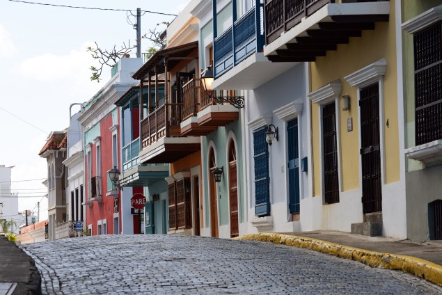 While walking along Norzagaray Street in Old San Juan, Puerto Rico (Harvey Barrison/Flickr)