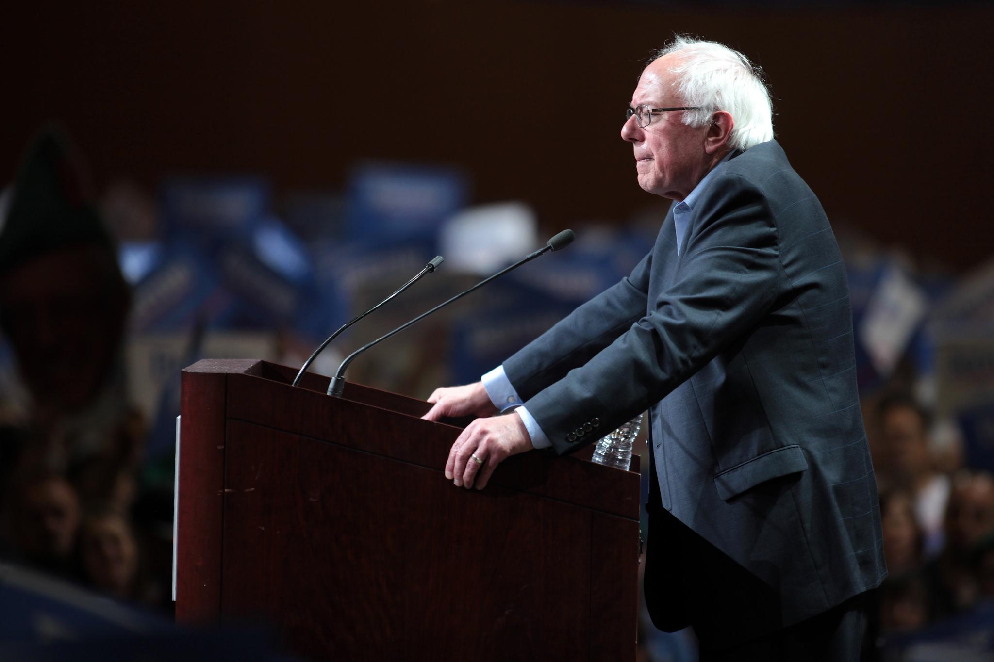Bernie Sanders, Democratic senator from Vermont and presidential candidate (Gage Skidmore/Flickr)