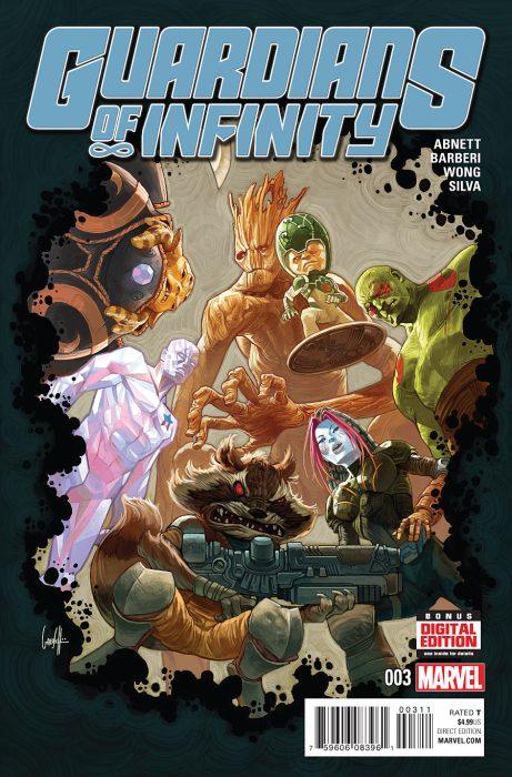 Cover by Gary Choo and Juan Doe (Marvel Comics)