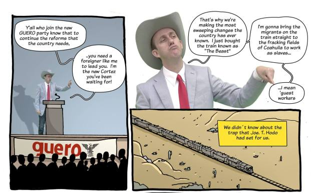 From 'Joe T. Hodo and His Fracking Migrants: Part 1' (El Chamuco)