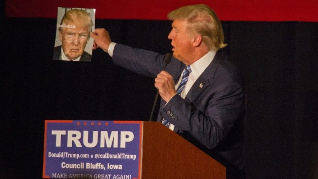 Donald J. Trump, billionaire mogul and Republican presidential frontrunner (Matt Johnson/Flickr)