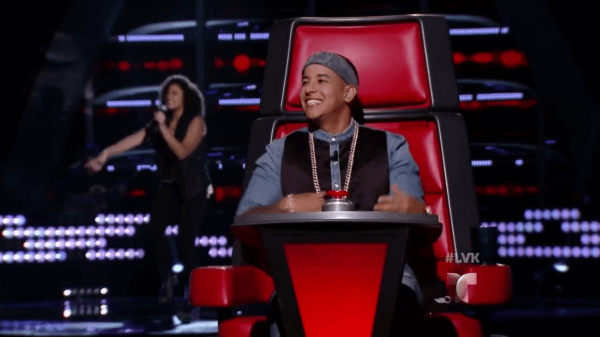 Daddy Yankee durante una participación como jurado del programa La Voz Kids (Foto suministrada:Telemundo)