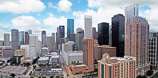 Downtown Houston (Photo by Henry Han)