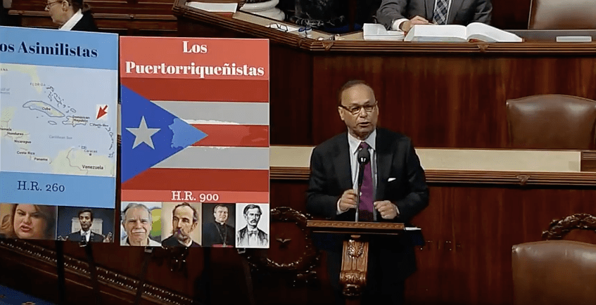Rep. Luis Gutiérrez Lays Down Puerto Rican Status Gauntlet With Spanish Speech in Congress (VIDEO)