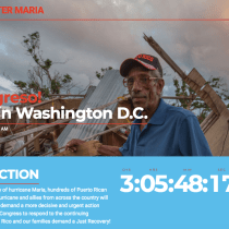Families, Lawmakers to Speak at Rally in Washington, DC on Six-Month Anniversary of Hurricane María