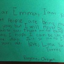 Latinas Raising Latinas: Emma González Reaches Out to a 7-Year-Old Girl