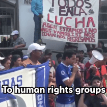 The Following Video From the 2018 Refugee Caravan Was Made by Migrants