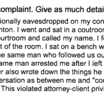 Civil Rights Complaint Filed Against ICE Officers Who Detained Man after Eavesdropping on Attorney-Client Discussion at State Courthouse