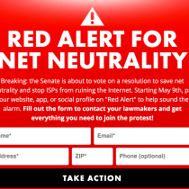 Red Alert for Net Neutrality Protests Kick Off Today, May 9