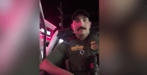 Border Patrol Agent in Montana Filmed After Approaching Two US Citizens Speaking Spanish at a Gas Station