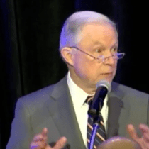 In His Prepared Remarks, AG Jeff Sessions Thinks We're Being 'Invaded' and 'Stampeded' by Migrants