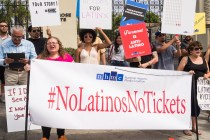 #NoLatinosNoTickets: NHMC and NLMC Protest Outside Paramount Pictures for Their Lack of Latino Talent on Screen and Behind the Scenes