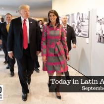Trump Criticizes Venezuela at UN General Assembly