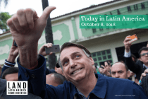Bolsonaro Snatches First Round of Brazil's Presidential Elections