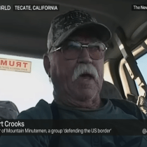 A US 'Minuteman' Goes on TRT World TV to Say Migrants on Border Should Just Be Shot
