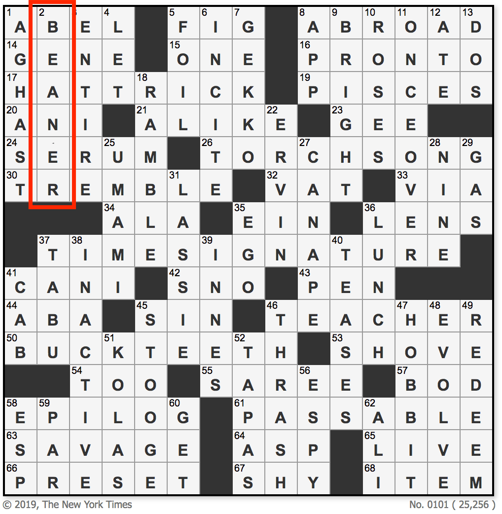 New York Times Crossword Puzzle Editor Apologizes For Including Beaner As Answer