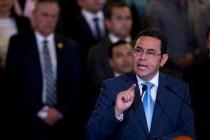 Historic Guatemalan Anti-Corruption Battle Endangered