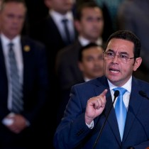 Historic Guatemalan Anti-Corruption Battle Endangered