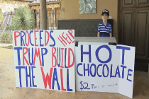 A 7-Year-Old Boy Is Selling Hot Chocolate to Raise Money for Trump's Border Wall