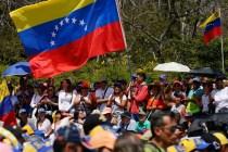 The Latest: UN Calls for Dialogue in Venezuela Standoff