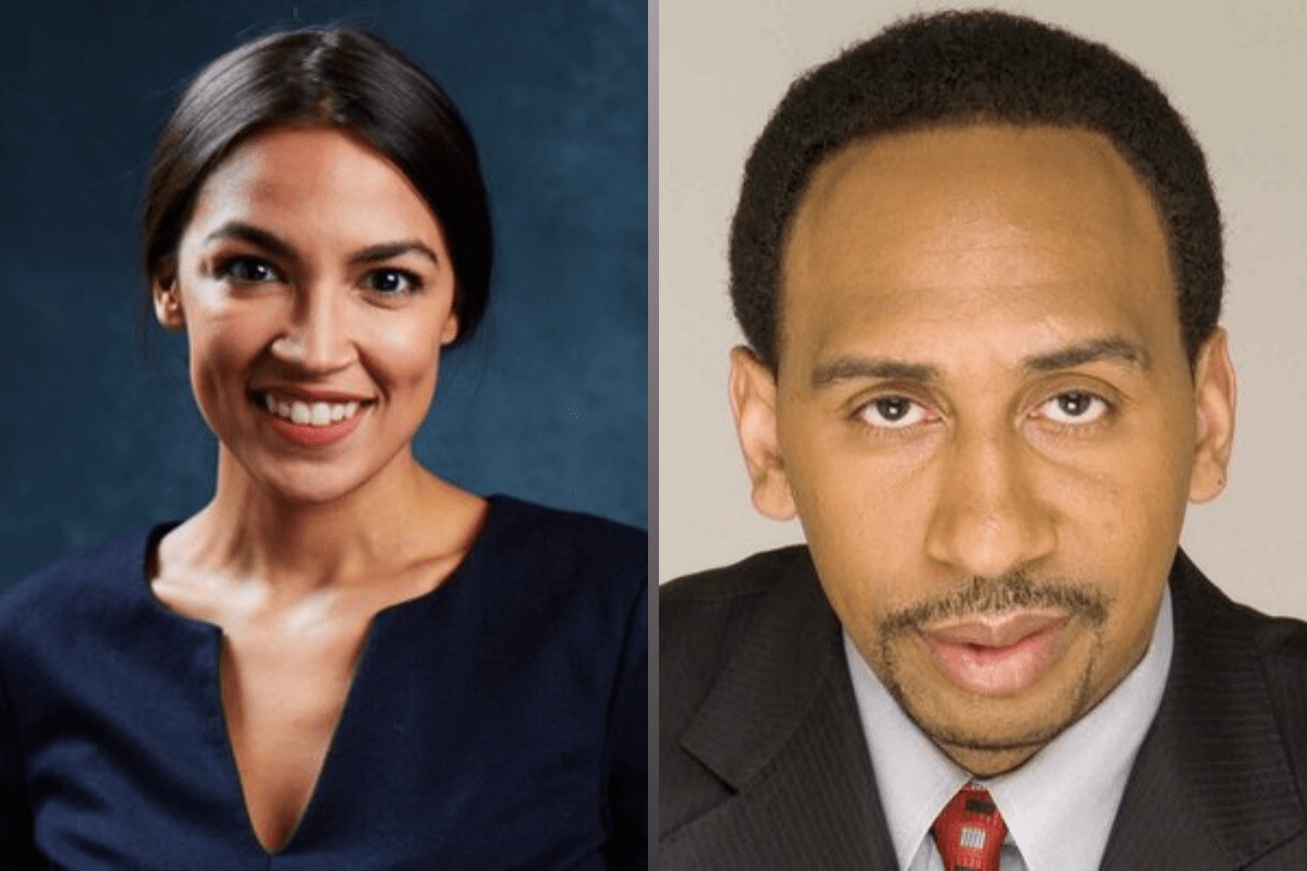 We Too Dream: AOC, Stephen A. Smith and the Narrative of How to Make It in America