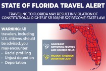 Coalition of Civil Rights and Immigrants' Rights Organizations Issue a Statewide Travel Alert in Florida
